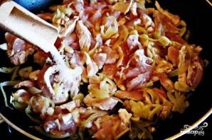 Куриное рагу с помидорами и луком - фото шаг 5