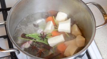 Суп-лапша со свининой - фото шаг 2
