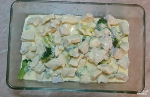 Куриная грудка с брокколи и сыром - фото шаг 5