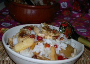 Каша рисовая в духовке - фото шаг 6