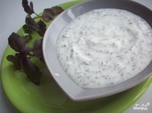 Йогуртовый соус - фото шаг 3