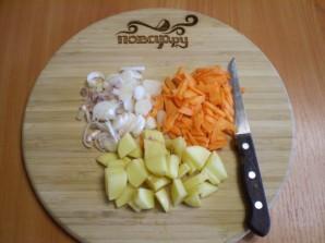 Гороховый суп без замачивания - фото шаг 3