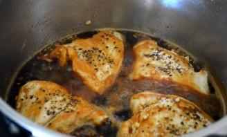 Курица в соусе терияки - фото шаг 9