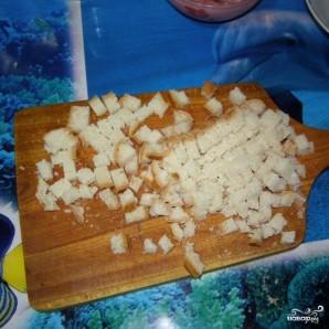 Салат с сухариками - фото шаг 2