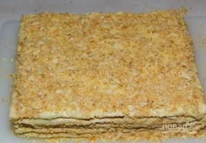 """Торт с готовыми коржами """"Наполеон"""" - фото шаг 5"""