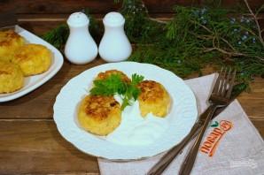 Картофельные колобки с фаршем - фото шаг 10