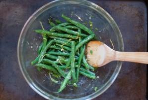 Салат из спаржевой фасоли - фото шаг 6