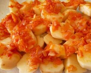 Жаркое с баклажанами и картошкой - фото шаг 4