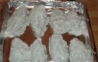 Крылышки в духовке в чесночном соусе - фото шаг 5