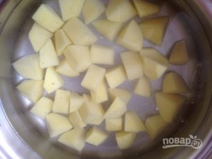 Суп из замороженных белых грибов - фото шаг 3
