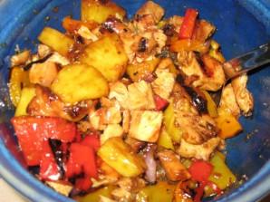 Курица с овощами по-китайски - фото шаг 6