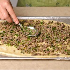 "Турецкая пицца ""Пайд"" - фото шаг 9"