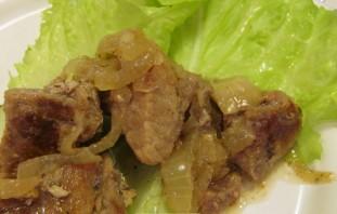 Свинина кусочками на сковороде - фото шаг 8