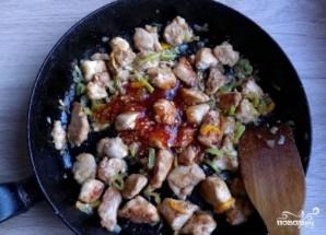 Куриная грудка в кисло-сладком соусе - фото шаг 8