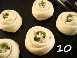 Пирожки Розочки - фото шаг 10