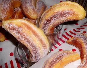 Булочки с банановой начинкой - фото шаг 5