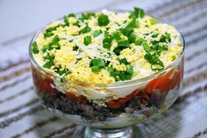 Простой рыбный салат из сардины - фото шаг 6