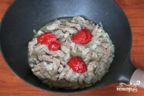 Поджарка с мясом - фото шаг 4