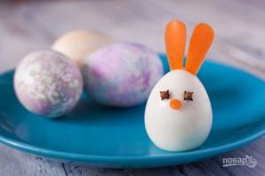Пасхальные яйца для праздничного стола - фото шаг 3