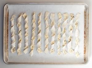 Слоеная сырная палочка  - фото шаг 3