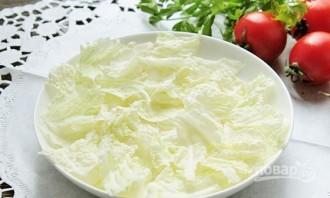 Салат из печени трески с яйцом - фото шаг 5