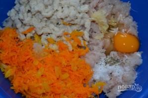 Рыбные котлеты в сырной шубе - фото шаг 6