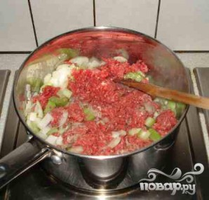 Суп с говядиной и помидорами - фото шаг 1
