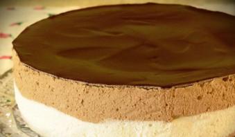 Шоколадное суфле для торта - фото шаг 5
