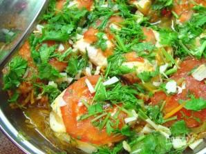 Масляная рыба, тушенная с овощами - фото шаг 7