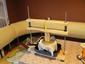 Сыр белорусский в домашних условиях - фото шаг 6