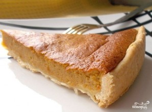 Тыквенный пирог со сгущенкой - фото шаг 11