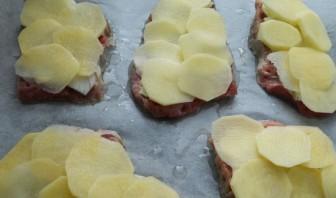 Ромштекс из говядины с сыром - фото шаг 3