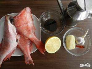 Филе красного окуня в духовке - фото шаг 1