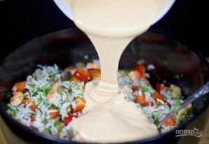 Грибной салат - фото шаг 9