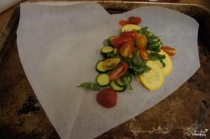 Рыба в пергаменте с овощами - фото шаг 3