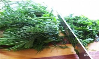 Греческий салат с винным уксусом - фото шаг 7