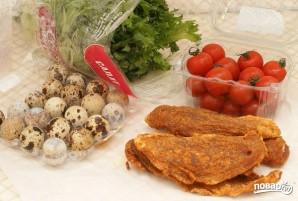 Салат с карпаччо из курицы - фото шаг 1