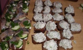 Бутерброды с салом - фото шаг 4