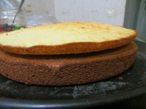 "Торт ""Айсберг"" с орехами - фото шаг 5"