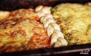 Пицца на слоеном тесте - фото шаг 4