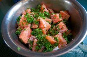 Рыбная запеканка со шпинатом - фото шаг 2