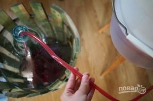 Рецепт малинового вина - фото шаг 5