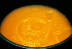 Крем-суп из тыквы со сливками - фото шаг 6