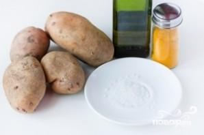 Картофель фри в духовке - фото шаг 1
