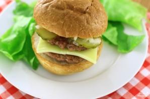 Двойной гамбургер - фото шаг 5