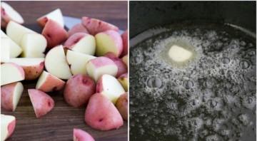 Молодой картофель обжаренный - фото шаг 2