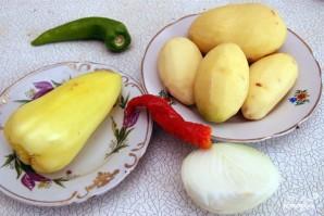 Картофель по-китайски - фото шаг 1
