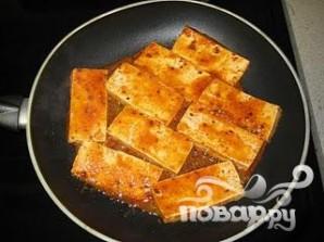 Жареный тофу - фото шаг 9