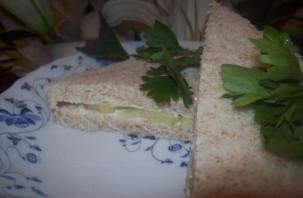 Сэндвичи с огурцом - фото шаг 6