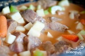 Суп с говядиной и овощами - фото шаг 4